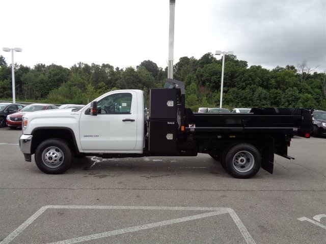 2016 Sierra 3500 Regular Cab 4x4, Monroe Dump Body #X20420 - photo 10