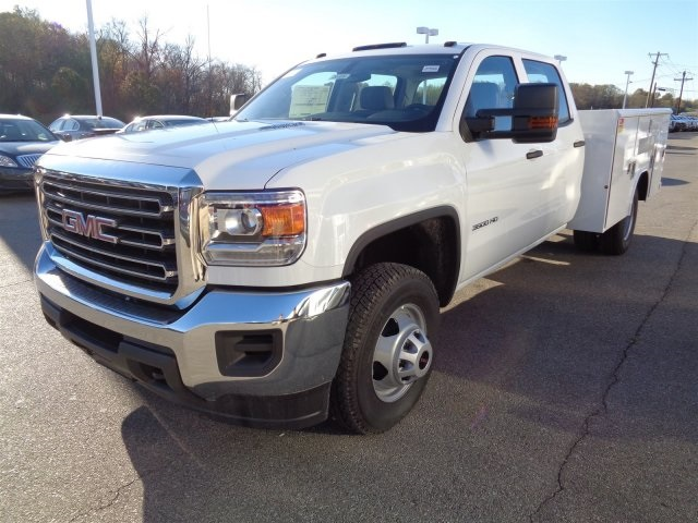 2016 Sierra 3500 Crew Cab, Reading Service Body #X20489 - photo 9