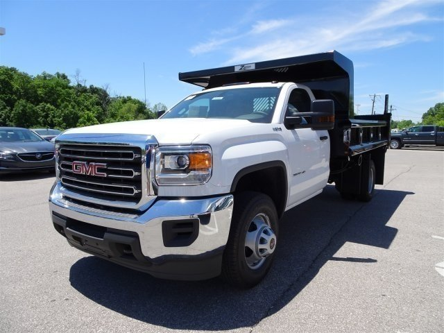 2017 Sierra 3500 Regular Cab DRW 4x4, Rugby Dump Body #X20498 - photo 9
