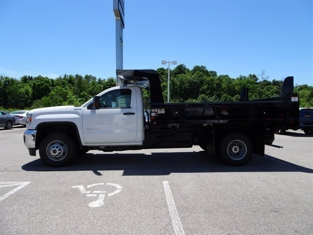 2017 Sierra 3500 Regular Cab DRW 4x4, Rugby Dump Body #X20498 - photo 10