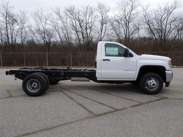 2017 Sierra 3500 Regular Cab DRW 4x4, Monroe Dump Body #X20501 - photo 3