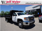 2017 Sierra 3500 Regular Cab DRW 4x4, Reading Dump Body #X20515 - photo 1