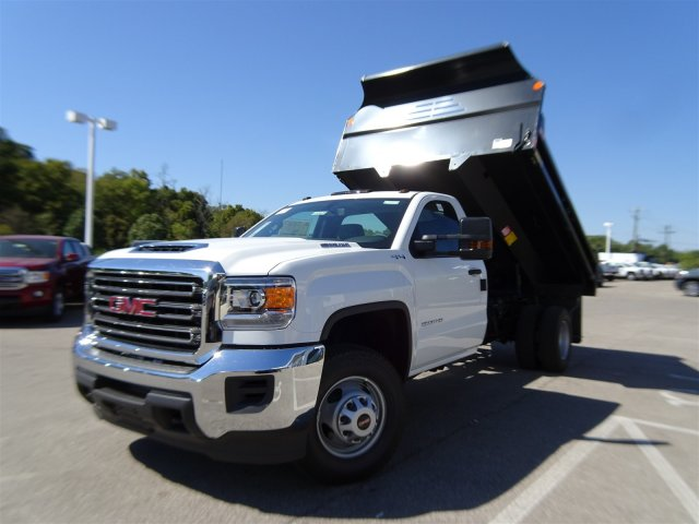 2018 Sierra 3500 Regular Cab DRW 4x4 Dump Body #X20529 - photo 11