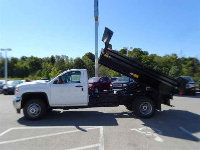 2018 Sierra 3500 Regular Cab DRW 4x4 Dump Body #X20529 - photo 12