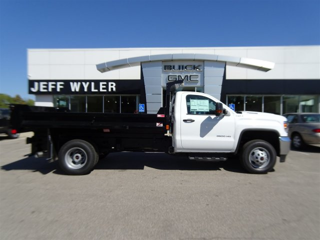 2018 Sierra 3500 Regular Cab DRW 4x4 Dump Body #X20529 - photo 3