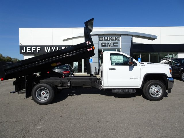2018 Sierra 3500 Regular Cab DRW 4x4 Dump Body #X20532 - photo 3