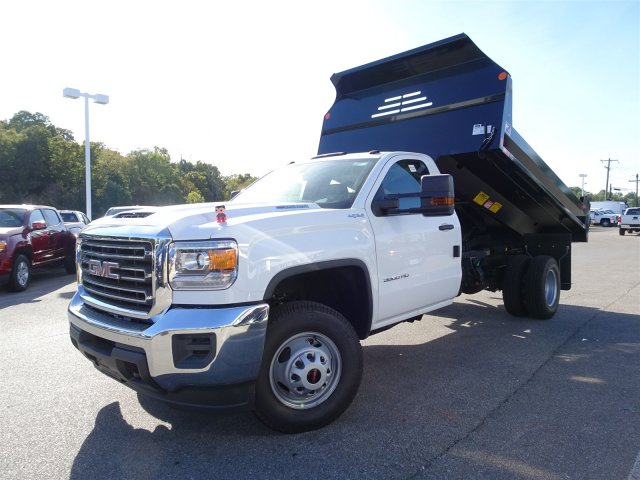 2018 Sierra 3500 Regular Cab DRW 4x4 Dump Body #X20532 - photo 7