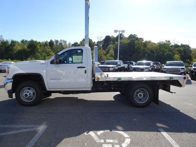 2018 Sierra 3500 Regular Cab DRW 4x4, Hillsboro Platform Body #X20535 - photo 8