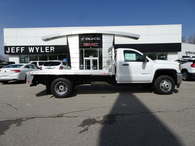 2018 Sierra 3500 Regular Cab DRW 4x4, Platform Body #X20540 - photo 7