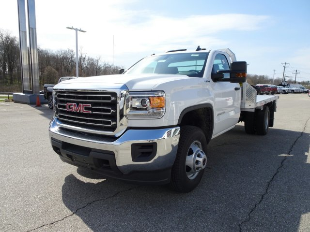 2018 Sierra 3500 Regular Cab DRW 4x4, Platform Body #X20540 - photo 12