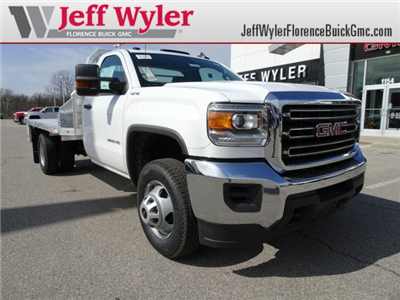 2018 Sierra 3500 Regular Cab DRW 4x4, Platform Body #X20540 - photo 1