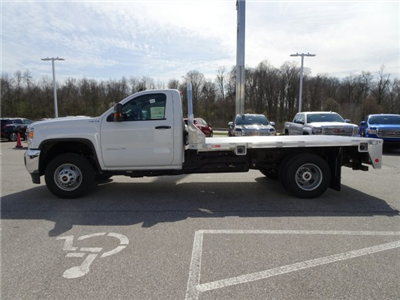 2018 Sierra 3500 Regular Cab DRW 4x4, Platform Body #X20540 - photo 13