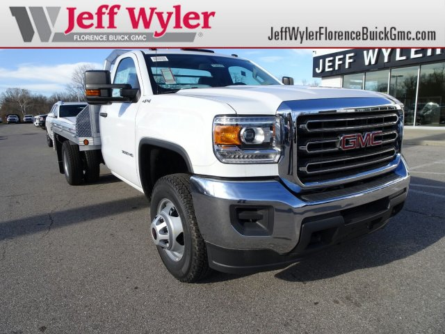 2017 Sierra 3500 Regular Cab DRW 4x4 Platform Body #X20549 - photo 1