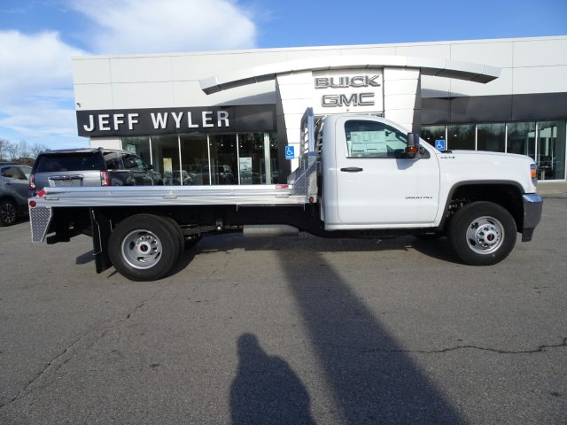 2017 Sierra 3500 Regular Cab DRW 4x4 Platform Body #X20549 - photo 3