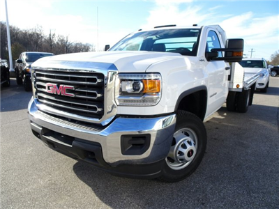 2017 Sierra 3500 Regular Cab DRW 4x4 Platform Body #X20549 - photo 9