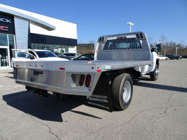 2018 Sierra 3500 Regular Cab DRW 4x4, Platform Body #X20560 - photo 2