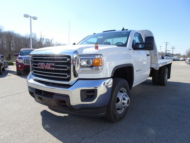 2018 Sierra 3500 Regular Cab DRW 4x4, Platform Body #X20560 - photo 12
