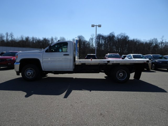 2018 Sierra 3500 Regular Cab DRW 4x4, Platform Body #X20560 - photo 13