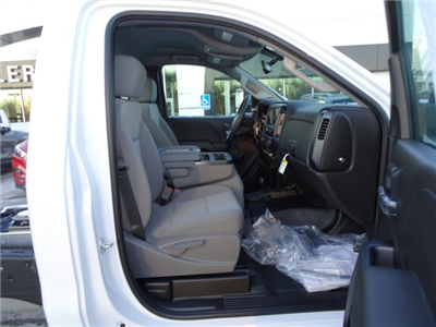 2018 Sierra 3500 Regular Cab DRW 4x4 Cab Chassis #X20560 - photo 13
