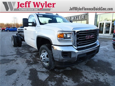 2018 Sierra 3500 Regular Cab DRW 4x4 Cab Chassis #X20560 - photo 1