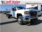 2018 Sierra 3500 Regular Cab DRW 4x4, Platform Body #X20560 - photo 1