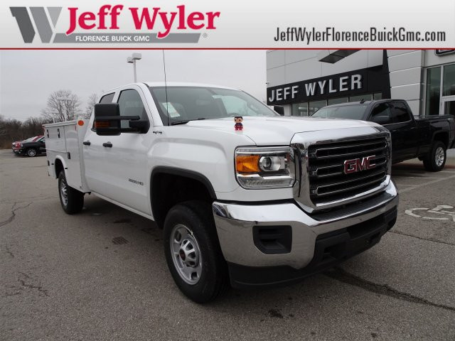 2018 Sierra 2500 Extended Cab 4x4, Service Body #X20584 - photo 1