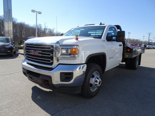 2018 Sierra 3500 Regular Cab DRW 4x4, Platform Body #X20586 - photo 10