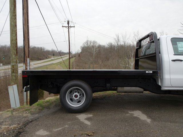 2018 Sierra 3500 Regular Cab DRW 4x4, Platform Body #X20591 - photo 4