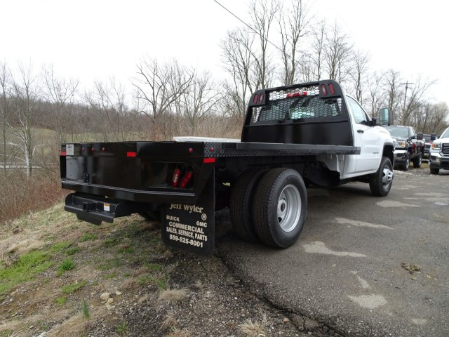 2018 Sierra 3500 Regular Cab DRW 4x4, Platform Body #X20591 - photo 2