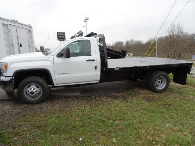 2018 Sierra 3500 Regular Cab DRW 4x4, Platform Body #X20591 - photo 5