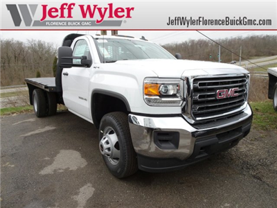 2018 Sierra 3500 Regular Cab DRW 4x4, Platform Body #X20591 - photo 1