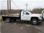 2018 Sierra 3500 Regular Cab DRW 4x4, Platform Body #X20591 - photo 3