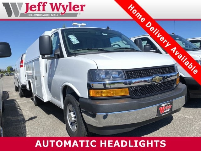 2020 Chevrolet Express 3500 4x2, Knapheide Service Utility Van #5690062 - photo 1