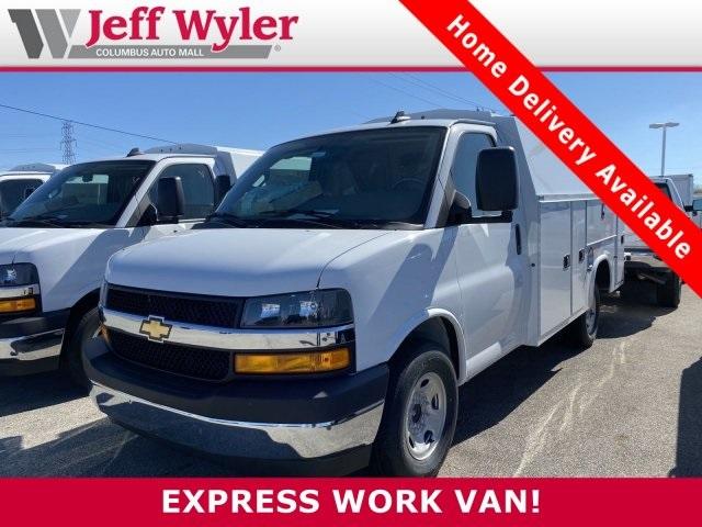 2020 Chevrolet Express 3500 4x2, Knapheide Service Utility Van #5690068 - photo 1