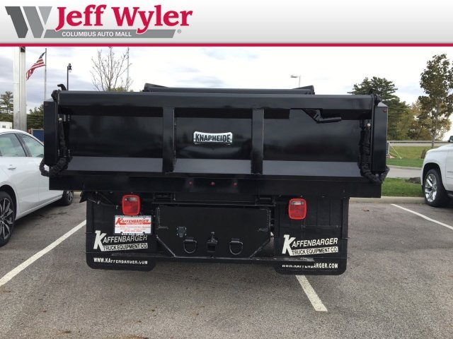2019 Silverado 3500 Regular Cab DRW 4x4,  Knapheide Dump Body #569012 - photo 8