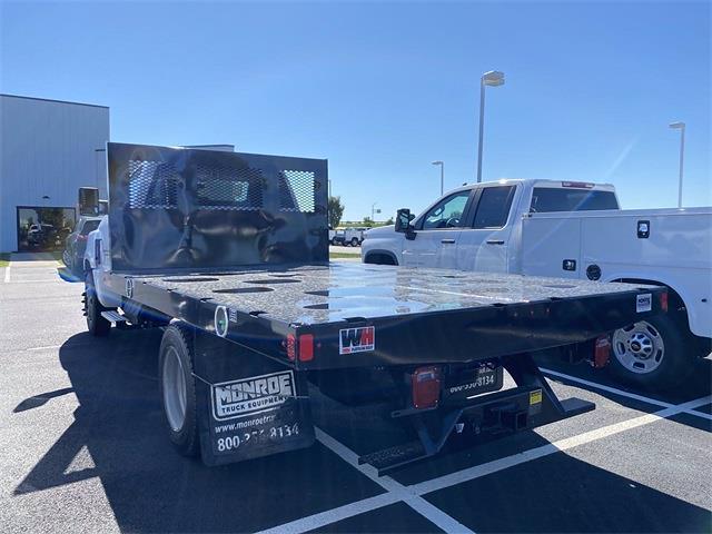2020 Silverado 4500 Regular Cab DRW 4x2,  Monroe Truck Equipment Work-A-Hauler II Platform Body #5690141 - photo 2