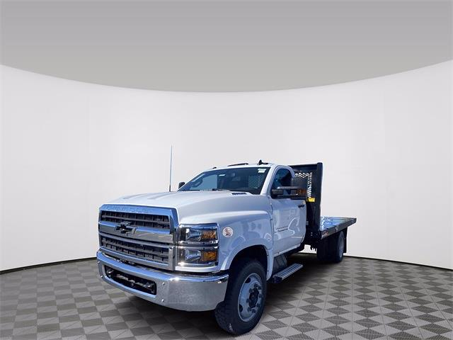 2020 Silverado 4500 Regular Cab DRW 4x2,  Monroe Truck Equipment Work-A-Hauler II Platform Body #5690141 - photo 4