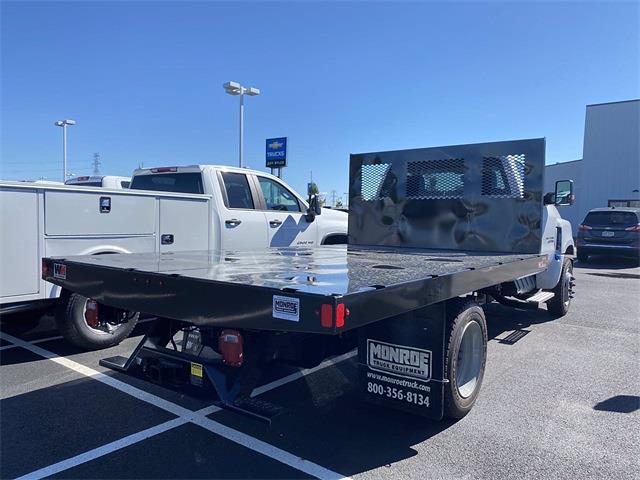 2020 Silverado 4500 Regular Cab DRW 4x2,  Monroe Truck Equipment Work-A-Hauler II Platform Body #5690141 - photo 8