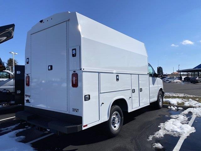 2020 Chevrolet Express 3500 4x2, Knapheide Service Utility Van #5690219 - photo 1