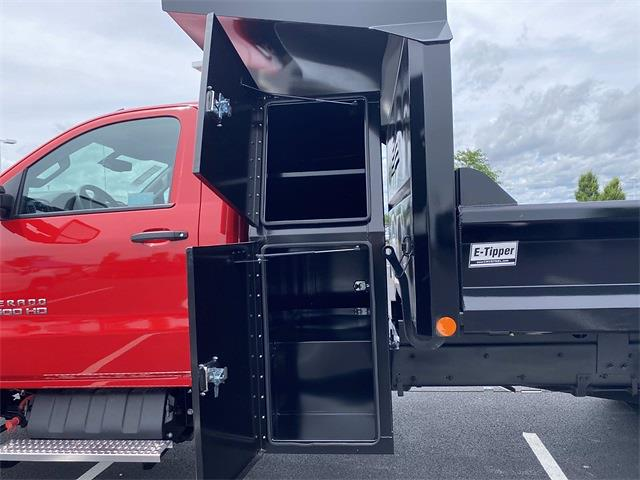 2021 Silverado 4500 Regular Cab DRW 4x4,  Crysteel E-Tipper Dump Body #5690254 - photo 18
