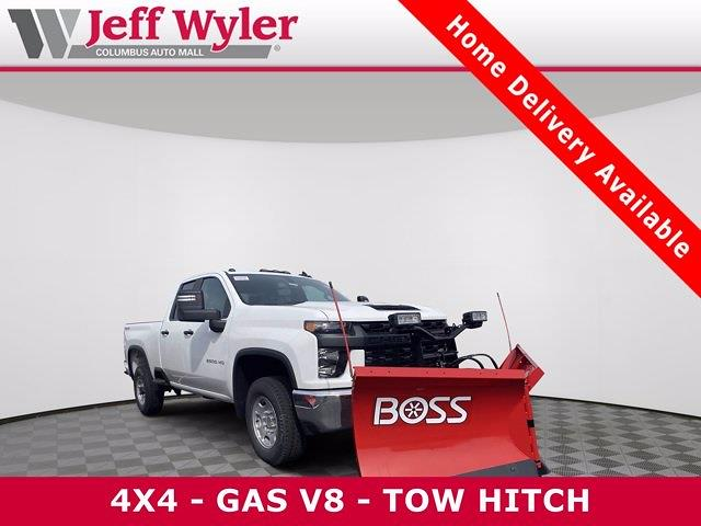 2021 Chevrolet Silverado 2500 Double Cab 4x4, BOSS Pickup #5690303 - photo 1