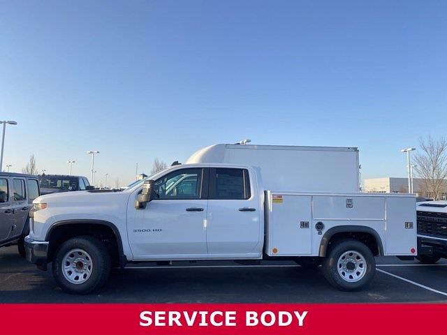 2021 Silverado 3500 Double Cab 4x2,  Monroe Truck Equipment MSS II Service Body #5690317 - photo 3