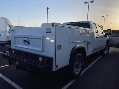 2021 Silverado 3500 Double Cab 4x2,  Monroe Truck Equipment MSS II Service Body #5690317 - photo 8