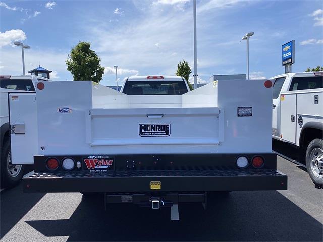 2021 Silverado 3500 Regular Cab 4x4,  Monroe Truck Equipment MSS II Service Body #5690393 - photo 10