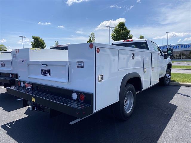 2021 Silverado 3500 Regular Cab 4x4,  Monroe Truck Equipment MSS II Service Body #5690393 - photo 17