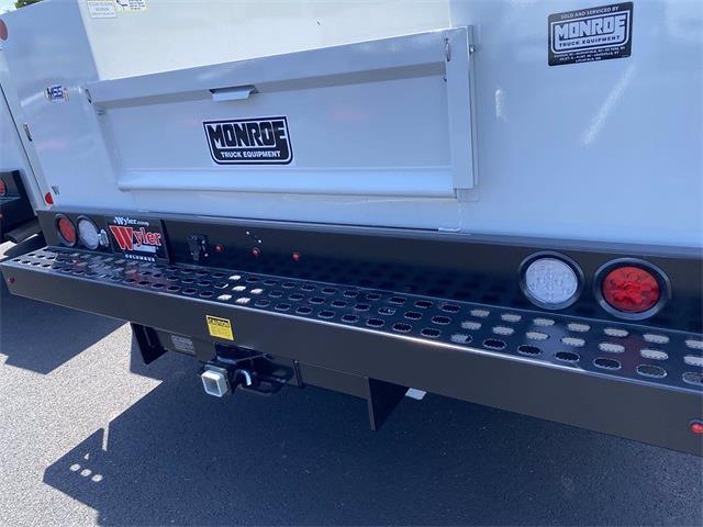 2021 Silverado 3500 Regular Cab 4x4,  Monroe Truck Equipment MSS II Service Body #5690393 - photo 12