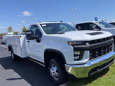 2021 Silverado 3500 Regular Cab 4x4,  Monroe Truck Equipment MSS II Service Body #5690393 - photo 4