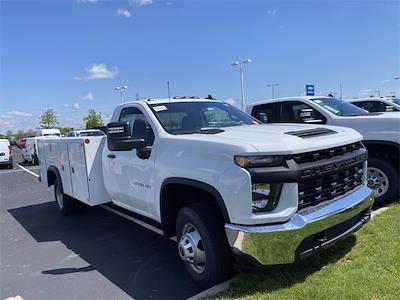 2021 Silverado 3500 Regular Cab 4x4,  Monroe Truck Equipment MSS II Service Body #5690393 - photo 5