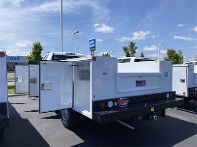 2021 Silverado 3500 Regular Cab 4x4,  Monroe Truck Equipment MSS II Service Body #5690393 - photo 2
