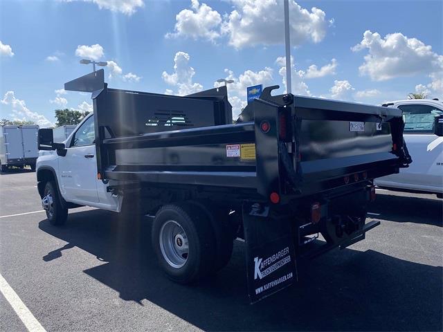 2021 Silverado 3500 Regular Cab 4x2,  Crysteel E-Tipper Dump Body #5690404 - photo 10